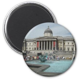 National Museum - Trafalgar Square 6 Cm Round Magnet