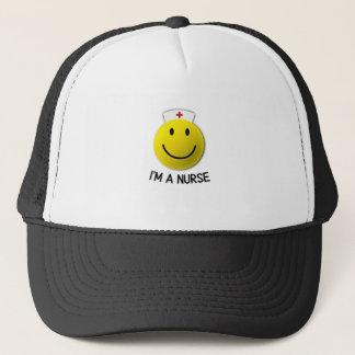 National Nurses Day I'm A Nurse Emoji Trucker Hat