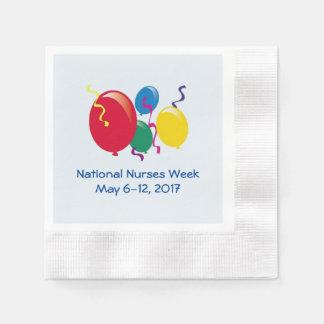 National Nurses Week 2017 Paper Napkin