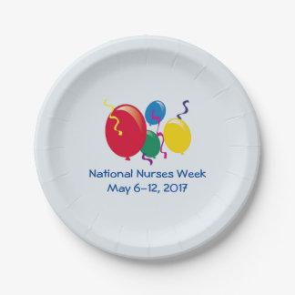National Nurses Week 2017 Paper Plate