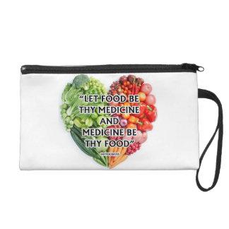 National nutrition month wristlet purses