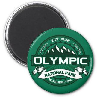 National Park 6 Cm Round Magnet