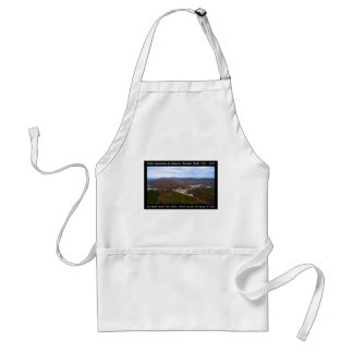 National Park Anniversary Hot Springs Autumn View Standard Apron