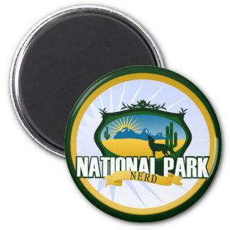 National Park Nerd - Desert 6 Cm Round Magnet