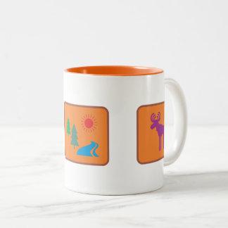 National Parks (c1) Two-Tone Coffee Mug