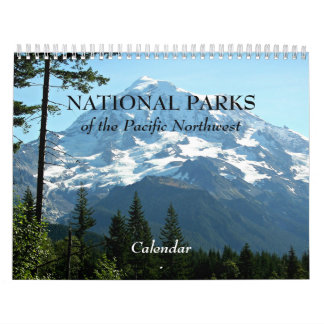 National Parks of the Pacific Northwest Photo Wall Calendars