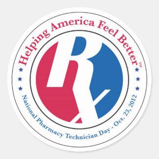 National Pharmacy Technician Day 2012 Sticker