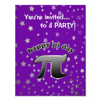 National Pi Day Pi Symbol for Math Nerds March 14 11 Cm X 14 Cm Invitation Card