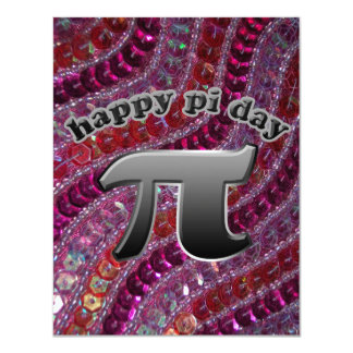 National Pi Day Pi Symbol for Math Nerds March 14 11 Cm X 14 Cm Invitation Card