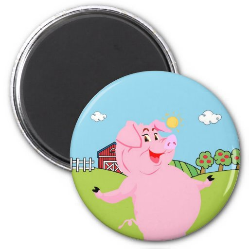 National Pig Day March 1st Refrigerator Magnet