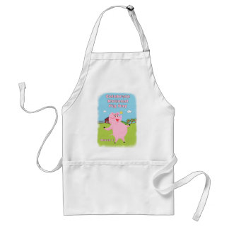 National Pig Day March 1st Standard Apron