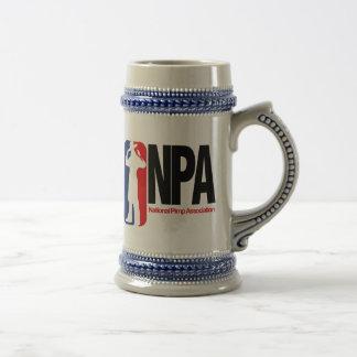 National Pimp Association 18 Oz Beer Stein