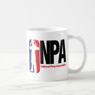 National Pimp Association Basic White Mug