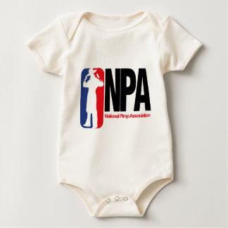 National Pimp Association Bodysuits