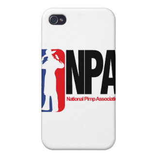National Pimp Association iPhone 4/4S Cover