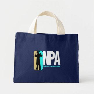 National Pimp Association Mini Tote Bag