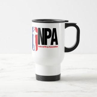 National Pimp Association Stainless Steel Travel Mug