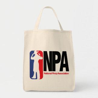 National Pimp Association Tote Bags