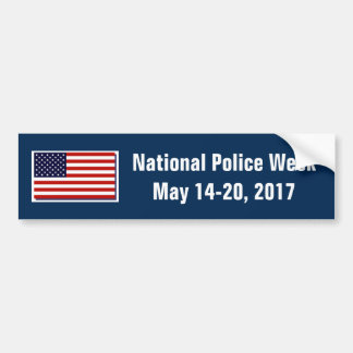 National Police Week 2017 Bumper Sticker