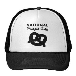 National Pretzel Day Cap