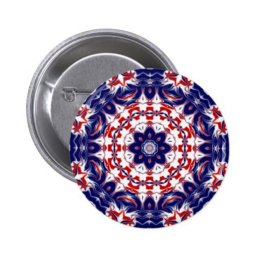 National Pride Kaleidoscope Buttons