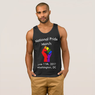 National Pride March Tank Top (black)