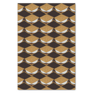 National S'Mores Day Tissue Paper