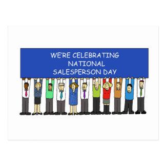 National Salesperson Day Postcard