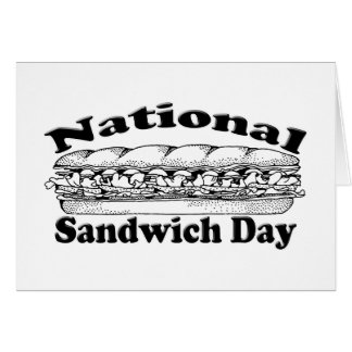 National Sandwich Day Card