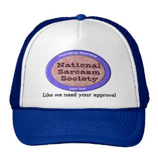 National Sarcasm Society Cap