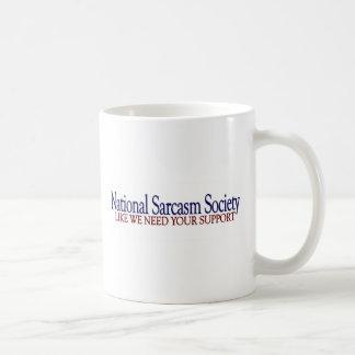 National Sarcasm Society Mugs