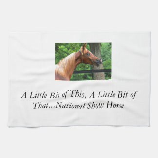 National Show Horse Hand Towel