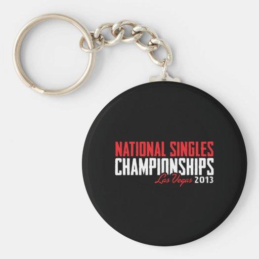 National Singles Championships Las Vegas 2013 Key Chain