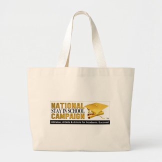 National Stay In School Campaign Bag