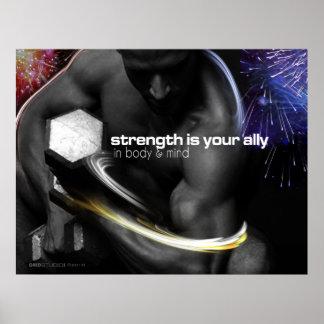 National Strength Print