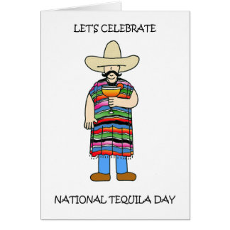 National Tequila Day July 24th Card