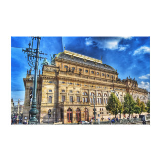 National Theatre, Prague Canvas Print