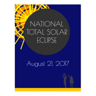 National Total Solar Eclipse Postcard
