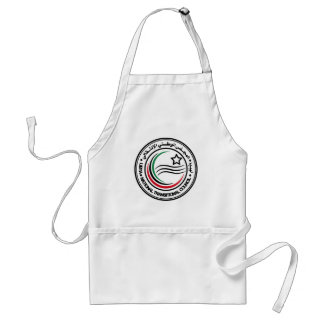 National Transitional Council of Libya Seal Standard Apron