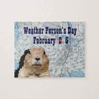 National Weather Person's Day February 5 Jigsaw Puzzle