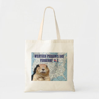 National Weather Person's Day February 5 Tote Bag