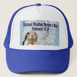 National Weather Person's Day February 5 Trucker Hat