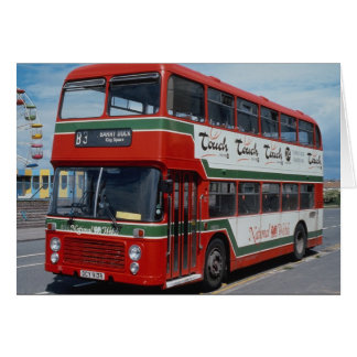 National Welsh Bristol 82b rests by the fair at Ba Card