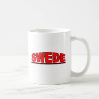 """Nationalities - """"Swede"""" Coffee Mugs"""