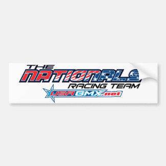 nationals logo bumper sticker