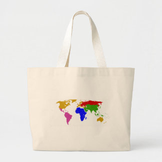 nations grouped canvas bags