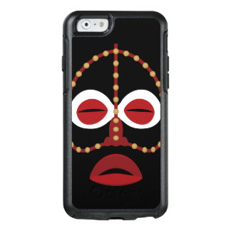Native African Indian Face Mask OtterBox iPhone 6/6s Case