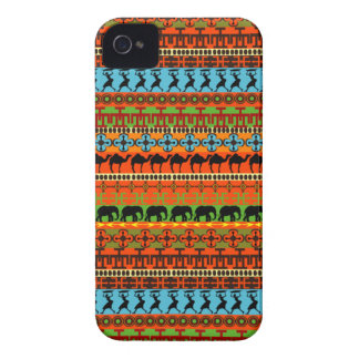 Native African Pattern iPhone 4 Case-Mate Cases
