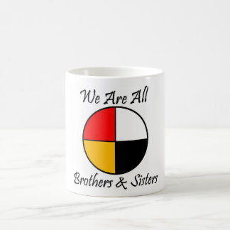 Native American 4 Directions gear Coffee Mug