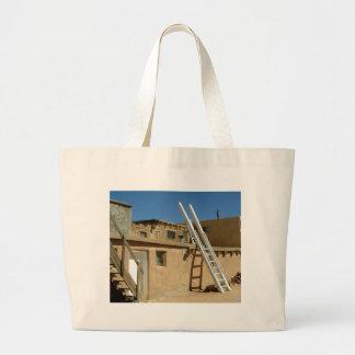 Native American Adobe Housing Southwest U.S. Jumbo Tote Bag